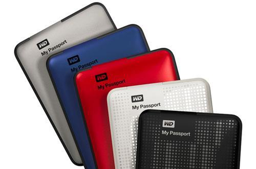 Western Digital unveils new My Passport portable hard drives, upgrades visa to 2TB