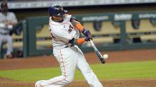 Maldonado's 3-run shot leads Astros over Giants 5-1
