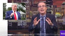 John Oliver Rolls Footage Of Trump Laughing At A Call To Shoot Immigrants