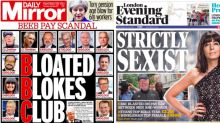 'Strictly sexist!' How the UK newspapers reacted to the big BBC pay reveal
