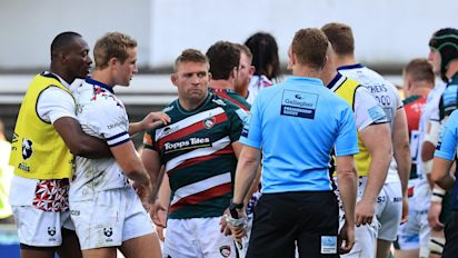 Tom Youngs stood down by Leicester Tigers after confronting referee following loss to Bristol Bears
