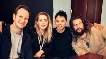 'Aquaman' Stars Jason Momoa, Amber Heard and Patrick Wilson Assemble in First Table Read Photo