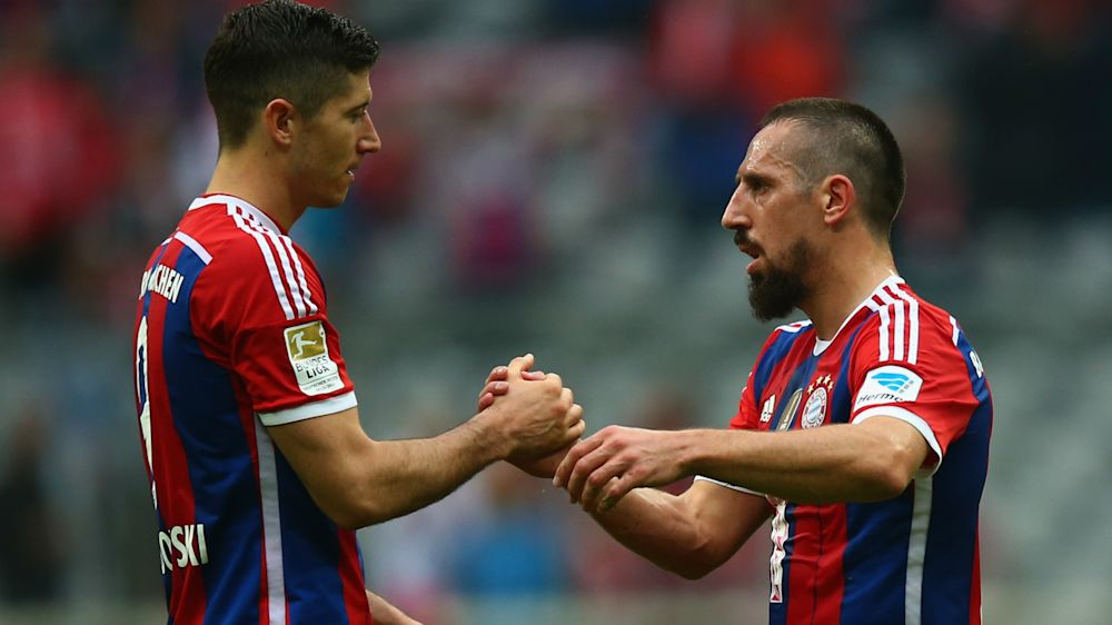 Lewandowski Ribery