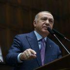 Turkey's Erdogan asks France, Germany to help end Syrian humanitarian crisis
