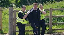 Louth killings: Moment murder suspect arrested after mum and nine-year-old son stabbed to death
