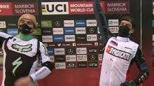 VTT - CM - VTT descente - Coupe du monde: Loris Vergier cartonne à Maribor, Marine Cabirou assure