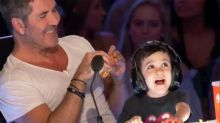 Simon Cowell's 3-Year-Old Son Eric Tries to Take Over His Job on 'America's Got Talent'
