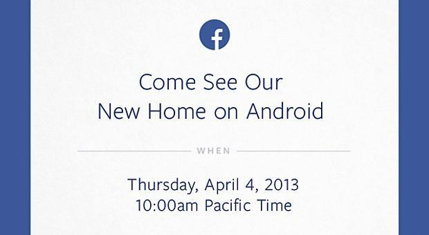 Facebook planning Android-related event on April 4th