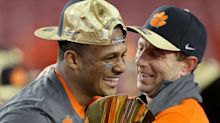 Dabo Swinney: Thoughts that Deshaun Watson isn't a first-rounder 'the craziest thing'