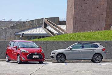 選CUV還是MPV?我們請到Skoda Kamiq與Toyota Sienta來場矛與盾的對決!