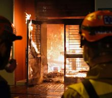 Hong Kong protesters set planned quarantine building on fire amid coronavirus concerns