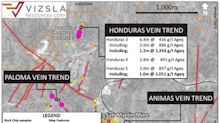 Vizsla Samples 1,264 g/t Silver Equivalent Across 1.2 Metres at Panuco Project, Mexico