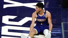 Injured Booker won't play in All-Star Game, Conley replaces