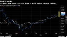 Acciones tecnológicas repuntan, industriales caen por ganancias