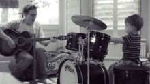 WATCH: Tom Fletcher replaces McFly drummer Harry Judd with son Buzz