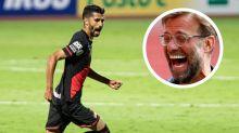 """Atlético-GO atropela o Flamengo e provoca: """"pode vir, Liverpool"""""""