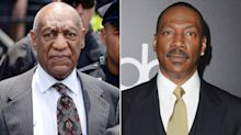 Bill Cosby's spokesman calls Eddie Murphy 'Hollywood slave' after SNL joke mocking disgraced comic