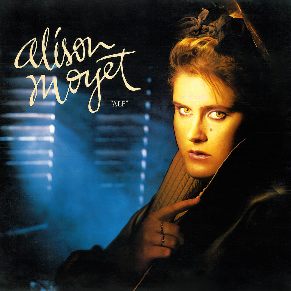 Alison Moyet's debut solo album from 1984, 'Alf'