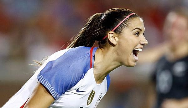 Usa Frauen Nationalmannschaft Morgan