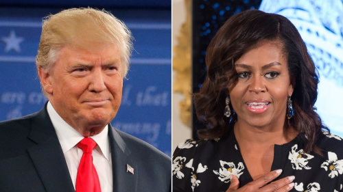 ANALYSIS: Why Donald Trump Isn't Attacking First Lady Michelle Obama