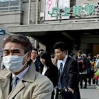 Japanese scientists warn children under 2 should not wear face masks because they could choke and struggle to breathe