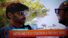 Habló Juan Darthés, tras las denuncias de acoso: 'Estoy en paz'
