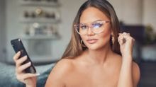 Chrissy Teigen teams up with Quay for her own line of glasses — and they're actually good for your eyes