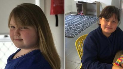 Desperate search for two missing 11-year-old girls