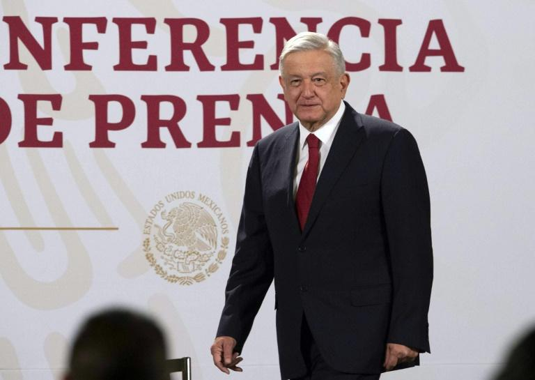 The US trip will be Mexican president Andres Manuel Lopez Obrador's first official visit to foreign soil (AFP Photo/-)