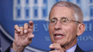 Dr. Anthony Fauci puts virus fight in hoops terms