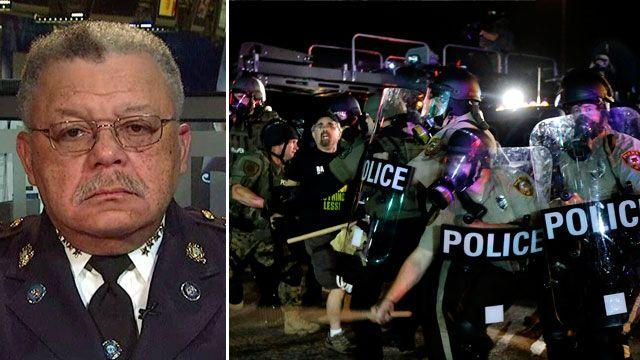 Philadelphia police chief advising officers in Ferguson