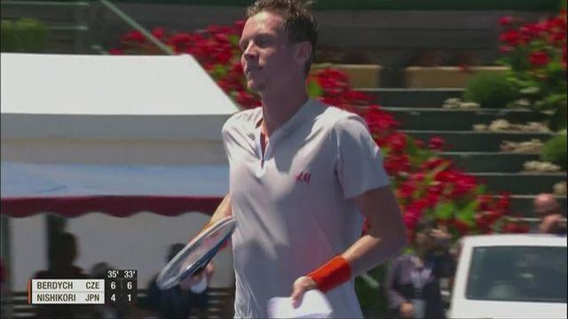 Berdych reaches final of the Kooyong Classic