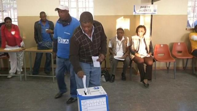 South Africa 'born free' polls open