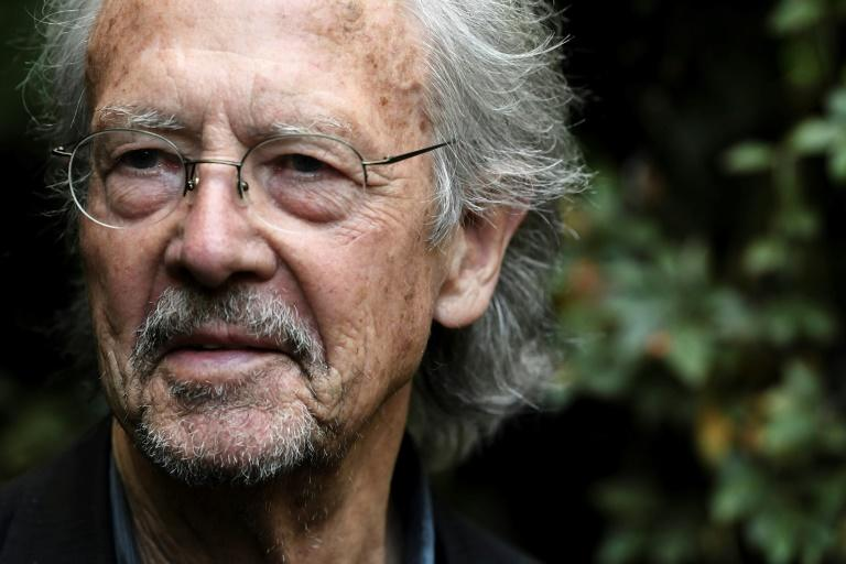 Austrian writer Peter Handke won the 2019 Nobel Literature Prize (AFP Photo/ALAIN JOCARD)
