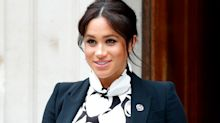 Meghan Markle's sold-out mod monochrome dress is back in stock - and on sale