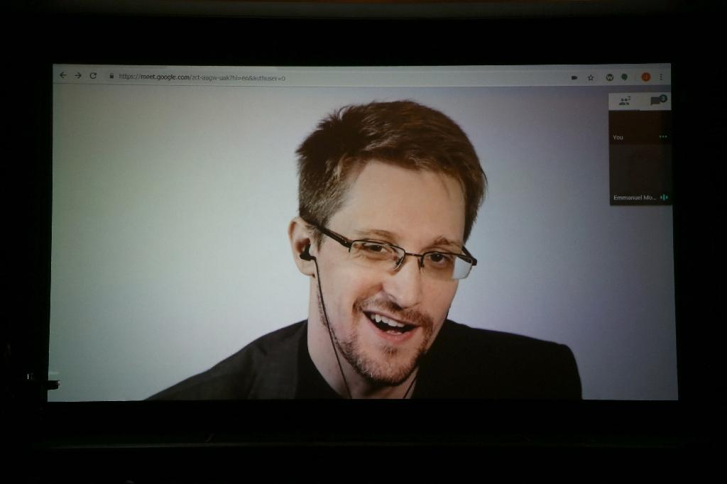 Snowden spoke of the NSO Group, the Israel-based company known for its Pegasus spyware
