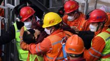 China gold mine blast: 10 confirmed dead and one still missing a day after 11 survivors rescued
