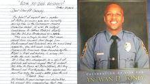 County jail inmates pen heartfelt letter honoring life of fallen officer: 'Your service and sacrifice make the world a better place'