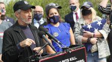 Jon Stewart returns to Washington to help veterans with burn pit illnesses: 'The fight starts again'