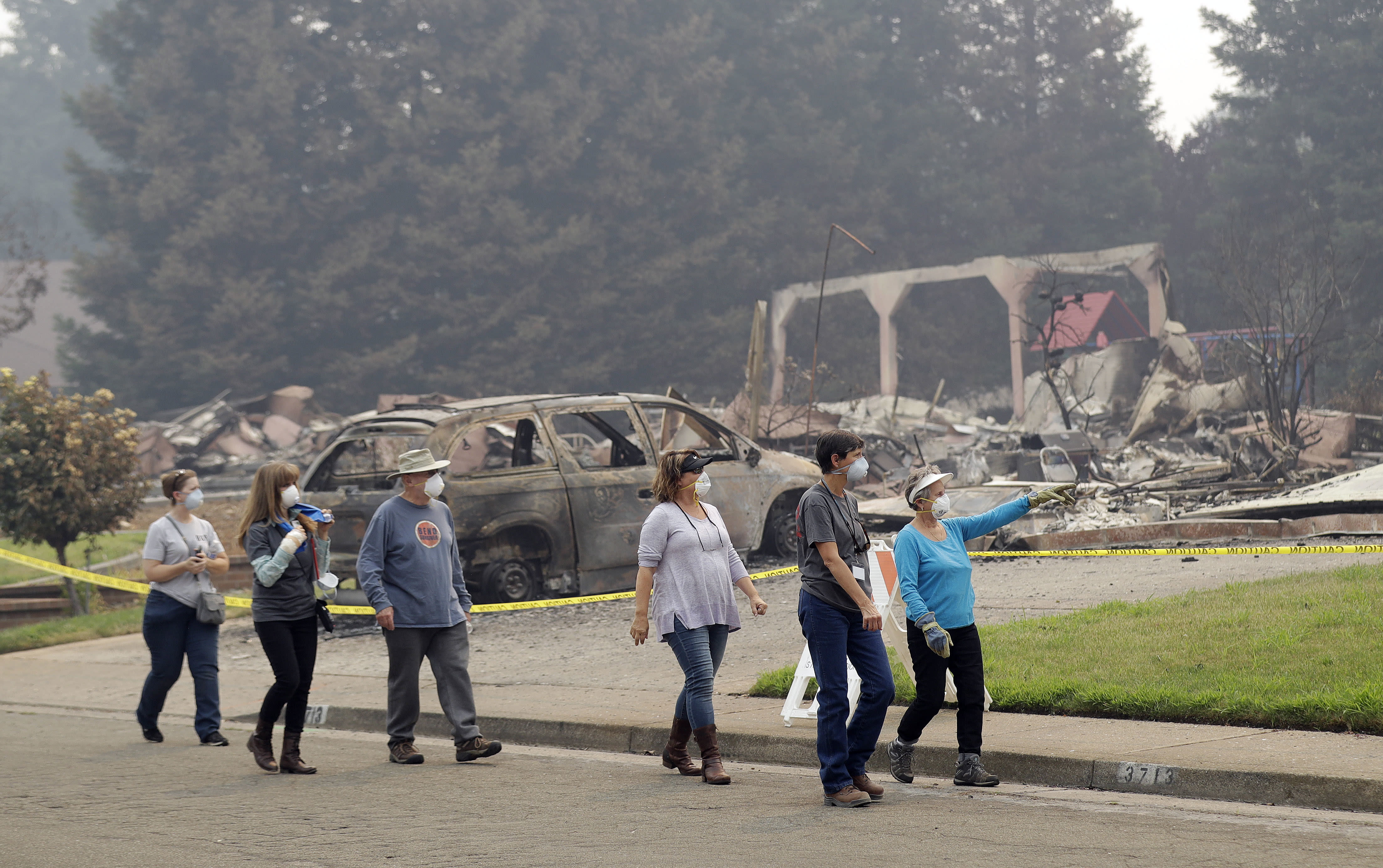 The Latest: New evacuations ordered for California wildfire