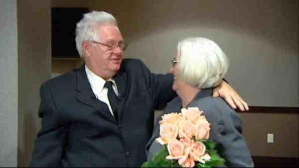 Brother and sister reunite after 65 years