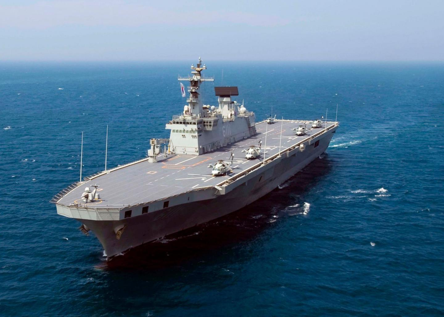 South Korea Wants Its Helicopter Carriers to Carry the F-35