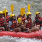 The Obama Family Goes River Rafting in Bali -- See the Pics!