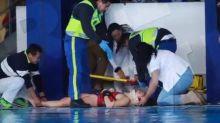 Clavadista Samantha Jiménez sufre accidente en la Alberca Olímpica