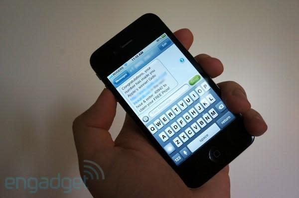 Los iPhone tendrían una grave vulnerabilidad en sus mensajes de texto