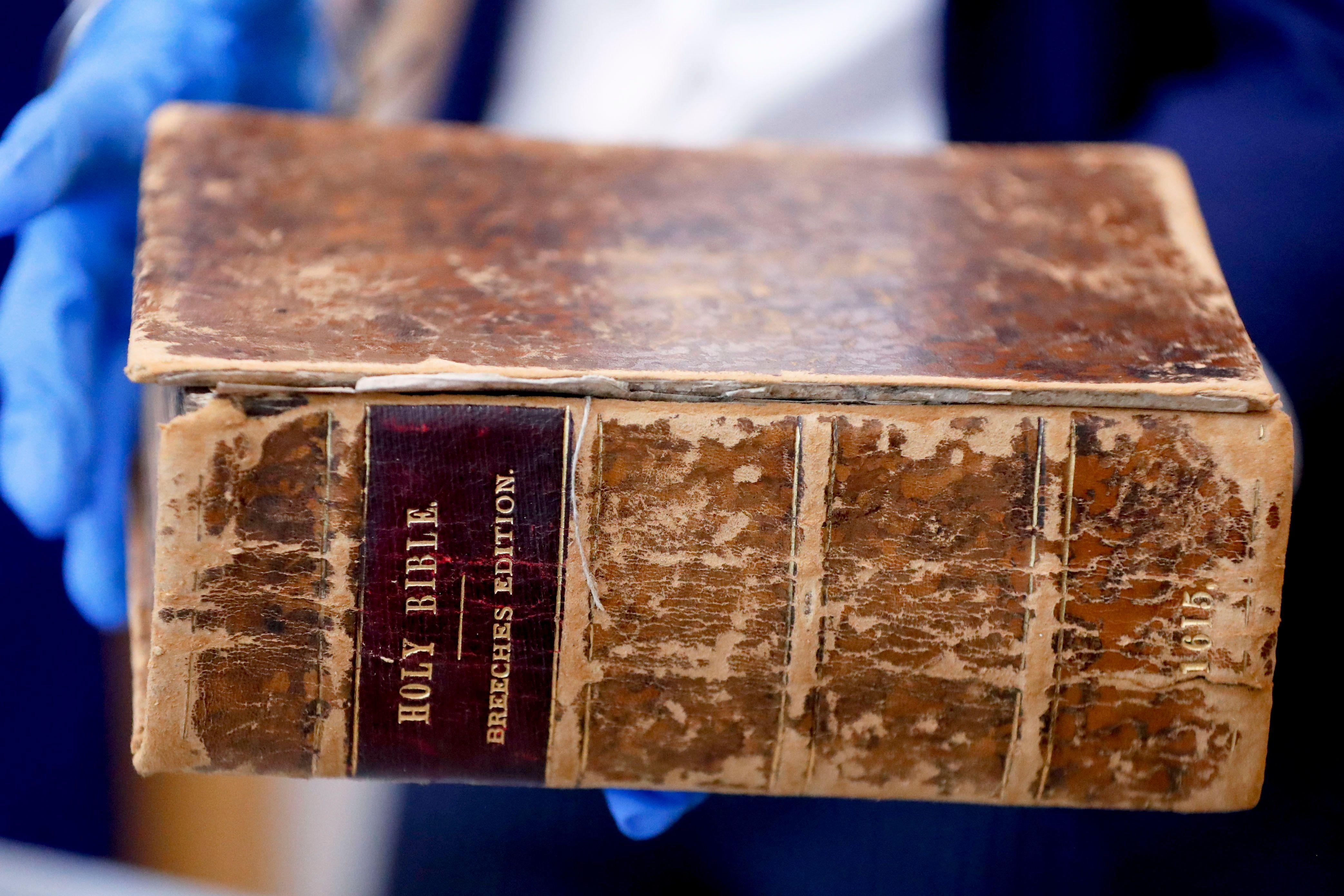 404-year-old 'priceless' Bible stolen from Carnegie Library found in the Netherlands