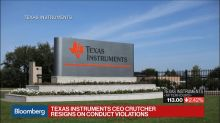 Texas Instruments CEO Crutcher Resigns on Conduct Violations