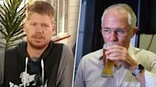 Man explains why he gave PM 'the bird' at local pub