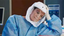 """La prima foto di Meredith in tenuta anti-Covid: """"La pandemia protagonista della nuova stagione"""""""