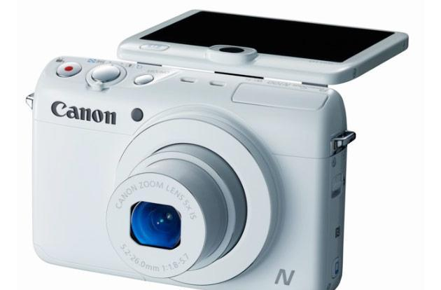 Canon PowerShot N100 sports modified design, WiFi, rear-facing camera